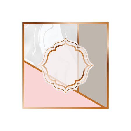 card with marble texture icon vector illustration design Stock Vector - 129931587