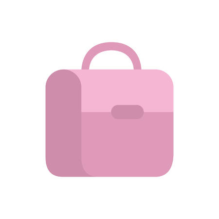handbag school on white background vector illustration design Çizim
