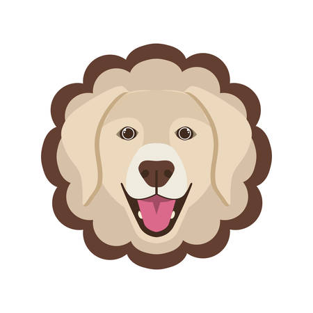 card cute and lovely of dog vector illustration design