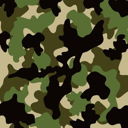 modèle avec texture militaire vecteur icône isolé illustration design Vecteurs
