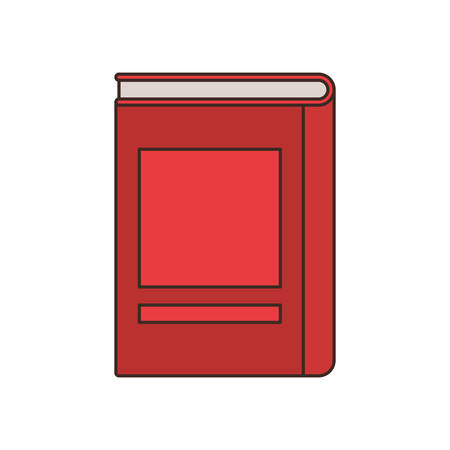 book of school with white background vector illustration design 向量圖像