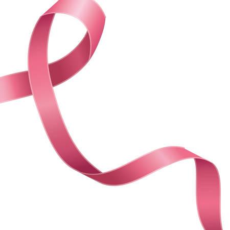 breast cancer campaign ribbon icon vector illustration design