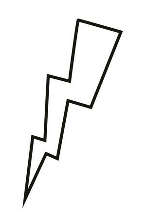 power ray pop art style vector illustration design Illusztráció
