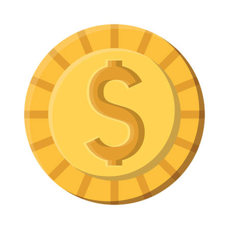Coin design, Money finance commerce market payment invest and buy theme Vector illustration Stock fotó - 133700550