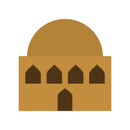 manger house building isolated icon vector illustration design