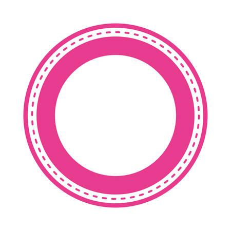 circle seal stamp isolated icon vector illustration design Reklamní fotografie - 133763096