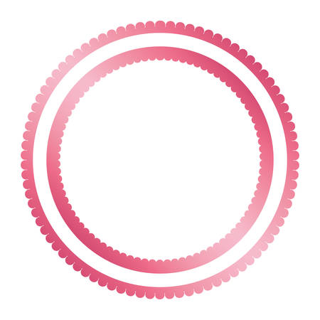 circle seal stamp isolated icon vector illustration design