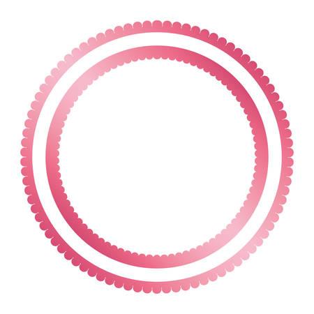 circle seal stamp isolated icon vector illustration design Reklamní fotografie - 133763229