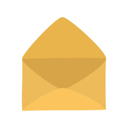 Envelope icon design, Email mail message letter marketing communication card and document theme Vector illustration