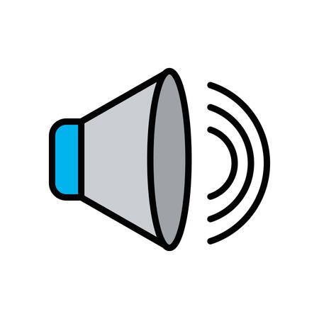 Music volume design, Digital technology communication internet device and electronic theme Vector illustration Ilustrace
