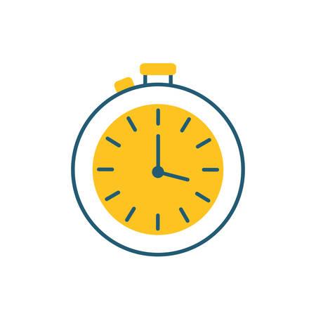 timer chronometer speed isolated icon vector illustration design