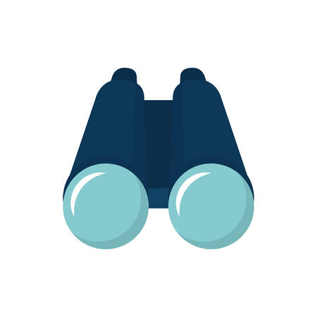 Binoculars design, Object vision equipment travel view spy and instrument theme Vector illustration