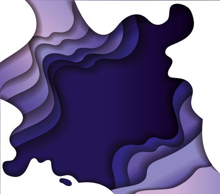 Purple waves background, Abstract texture art and wallpaper theme Vector illustration