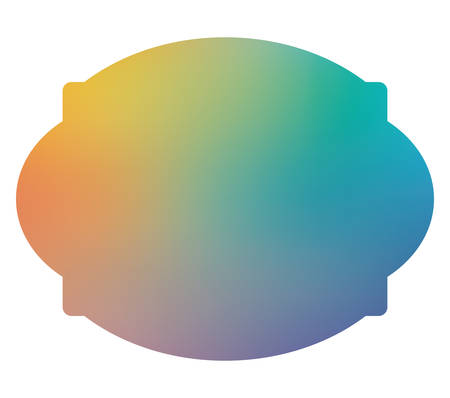 Blue and light gradient frame banner design, Label tag product decoration sale card emblem invitation and premium theme Vector illustration Stok Fotoğraf - 147921889