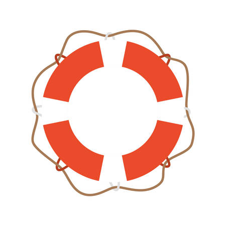 Lifebuoy design, Emergency rescue save department 911 danger help safety and aid theme Vector illustration 写真素材 - 148882710