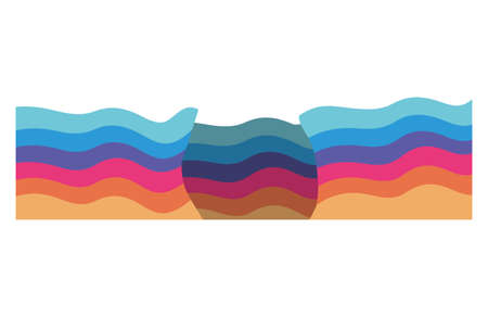 lgtbi flag design, Pride day love sexual orientation and identity theme Vector illustration