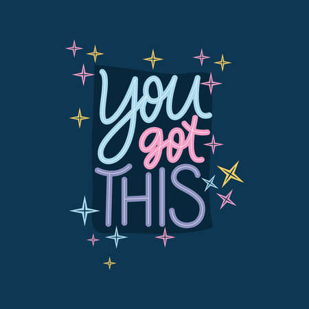 you got this lettering design of Happiness positivity and covid 19 virus theme Vector illustration Ilustracje wektorowe