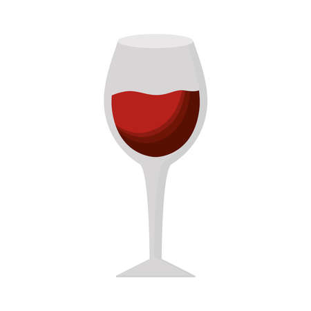 Wine cup design, Winery alcohol drink beverage restaurant and celebration theme Vector illustration 矢量图像