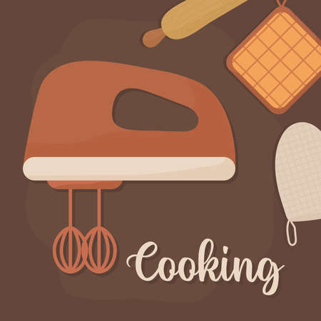 cooking set equipments icon Vecteurs