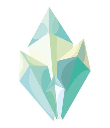 pretty beryl crystal