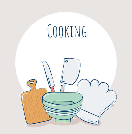 cooking items poster