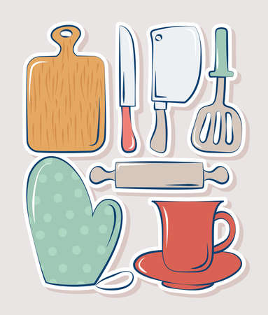 seven cooking items