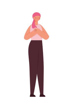 survivor girl illustration
