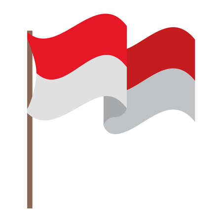indonesia flag design Çizim