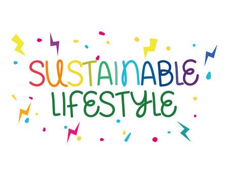 sustainable lifestyle phrase