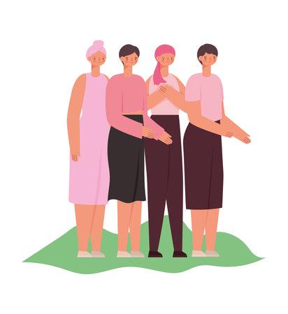 cancer breast survivors Çizim