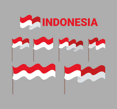 indonesia flags items