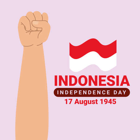 indonesia independence card