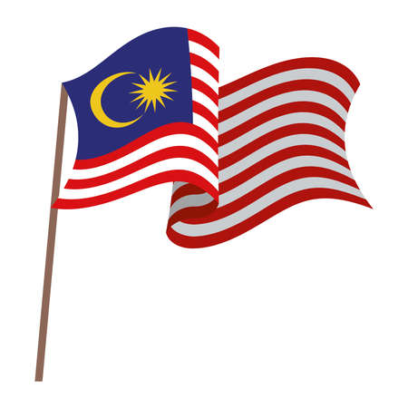 patriotic malaysia flag