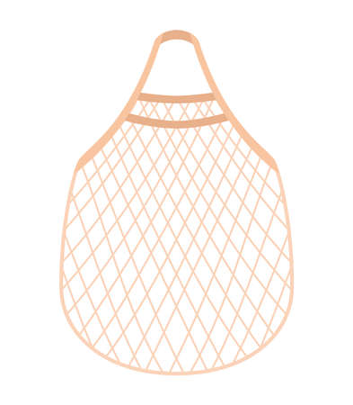 mesh bag illustration