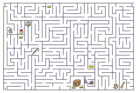 Labyrinth. Stock Vector - 16188900