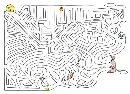 Labyrinth. Vector illustration.