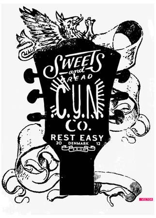 eslogan: Slogan t-shirt,fragrance graphic for fashion Vectores