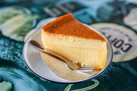 Custard cake, Custard chiffon cake.