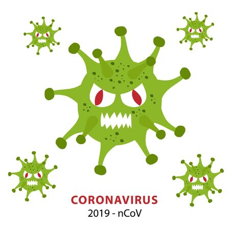 COVID-19 or Coronavirus 2020 infographic. nCov 2020 Ilustração