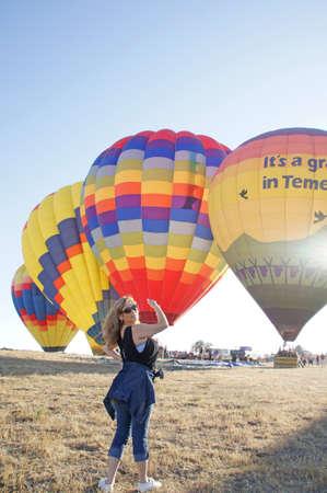 California Hot Air Balloon Launch