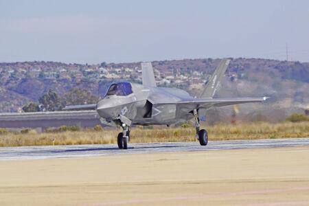 f 18: F-35 Lightning Fighter at 2014 Miramar Air show