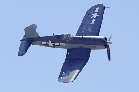 Corsair WWII Airplane