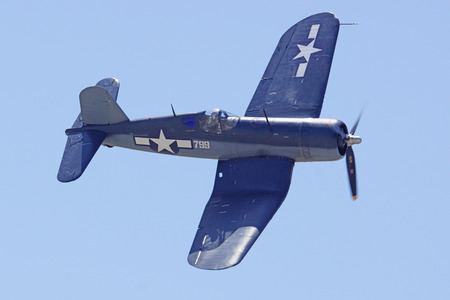 Corsair WWII Airplane