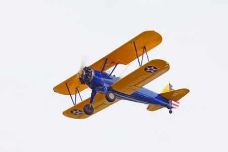 Airplane flying at Airshow