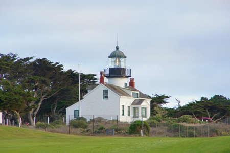 california coast: Lighthouse on North California Coast