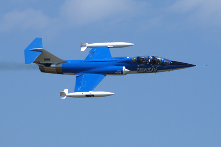 F-104 Starfighter jet fighter performs at 2013 TICO Air Show