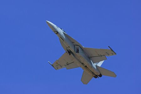 f18: F-18 Hornet Jet Aircraft at 2015 Los Angeles Air Show