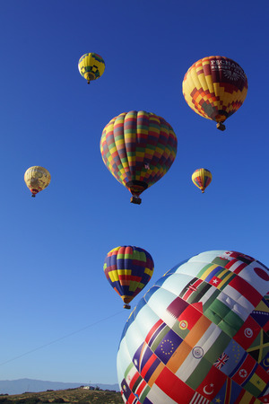 Hot air balloons at 2015 Temecula Hot Air Balloon and Wine Festival