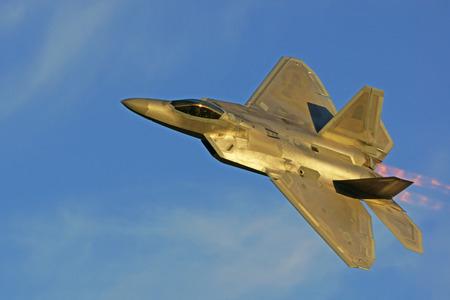 raptor: F22 Raptor Modern Jet Airplane Fighter Flying
