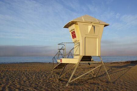life guard: Life Guard station on California beach